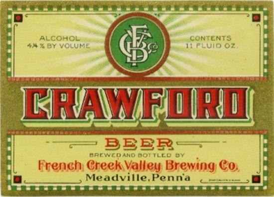 Vintage Beer Labels