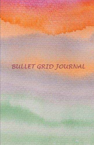Bullet Grid Journal Watercolor 150 Dot Grid Pages Prof Https