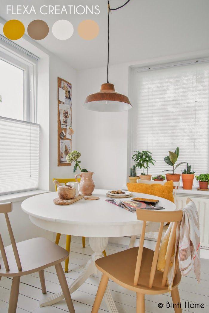 Grandes mesas redondas para la cocina decorar tu casa for Mesa redonda cocina