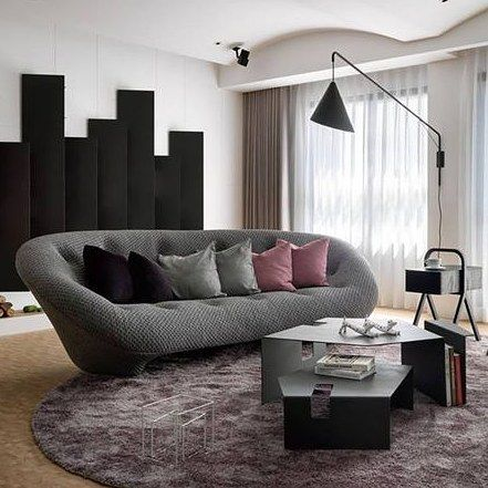 ploum sofa furniture living room inspiration pinterest ligne roset living room. Black Bedroom Furniture Sets. Home Design Ideas