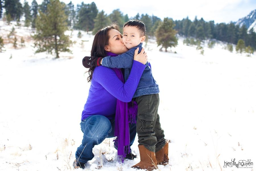 mother and son family photography » Hien Nguyen Photography