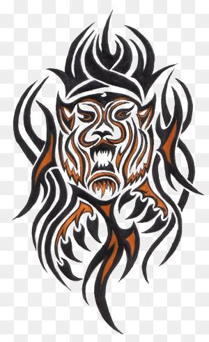 Tiger Tattoo Png 33 Tribal Tiger Tattoos Designs And Pictures 300 491 Png Download Free Transparent Tribal Tiger Tattoo Tribal Tiger Tiger Tattoo Design