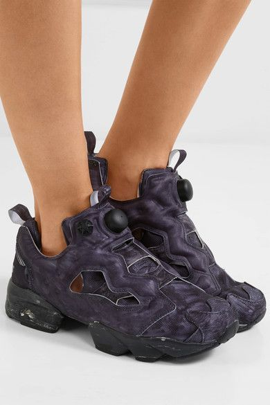 Vetements - Reebok Instapump Fury Og Neoprene And Mesh Sneakers - Black 6989aa149
