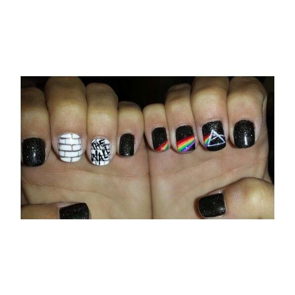 Rock \'n\' Roll Nail Art   Art nails, Rock and Makeup