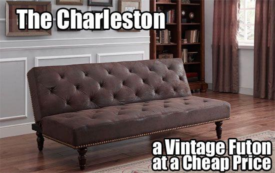3 Vintage Futon Sofa Beds 350 450