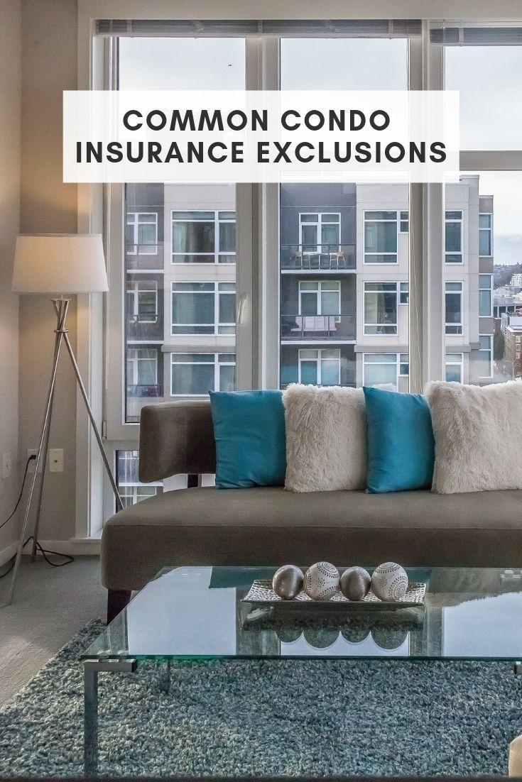 Common condo insurance exclusions condo insurance condo