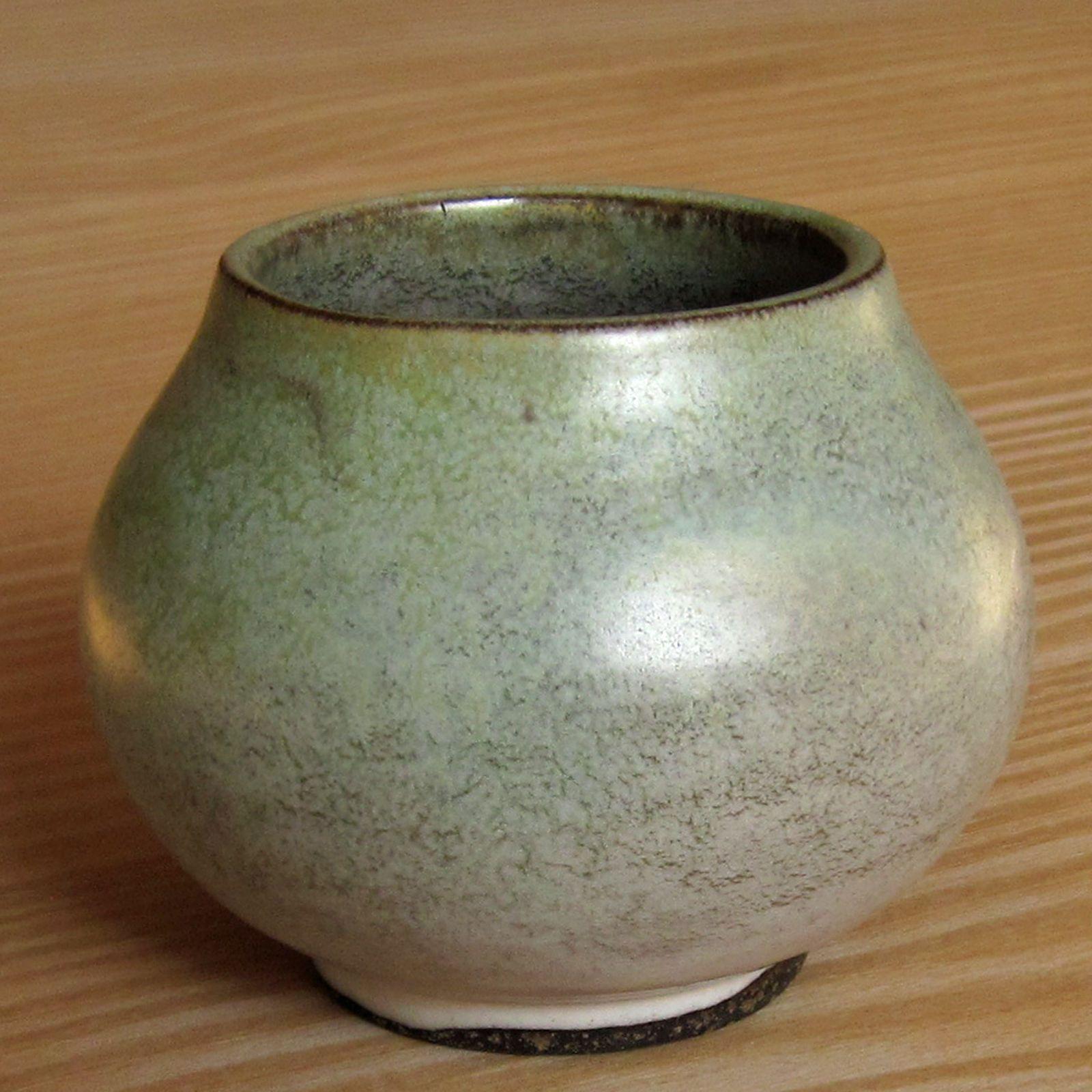 Keramik Vase Hamelner T 246 Pferei Delius Kraut Bauhaus