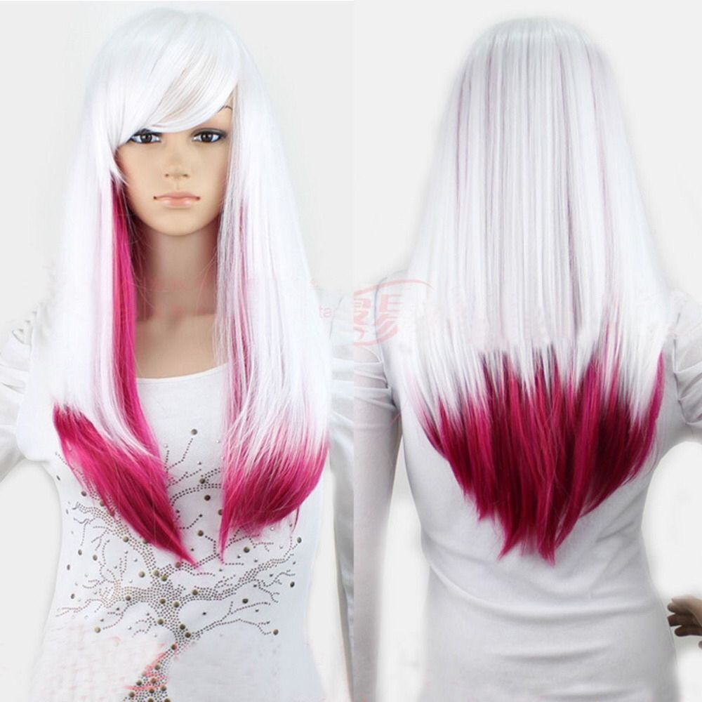 Lady Rainbow Human Hair Wigs