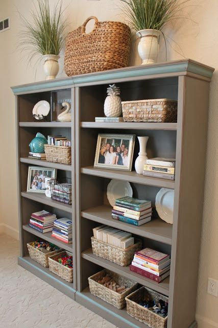 Pin By Stacey Nelson Donart On Organizing In 2021 Bookcase Decor Bookshelf Decor Home Decor