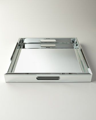 Decorative Mirror Tray Impressive L Mirtray  Trays Modern And Glass Review
