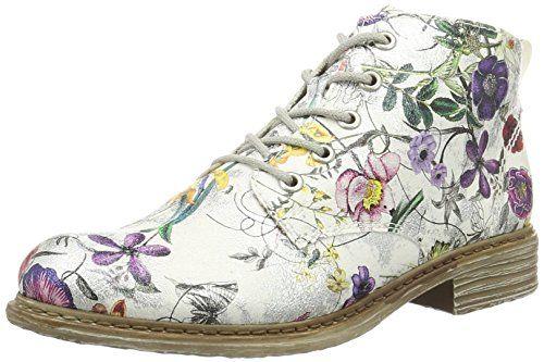 s.Oliver 25203, Bottes Chukka Femme, Argent (Silver Flower 946), 41 EU