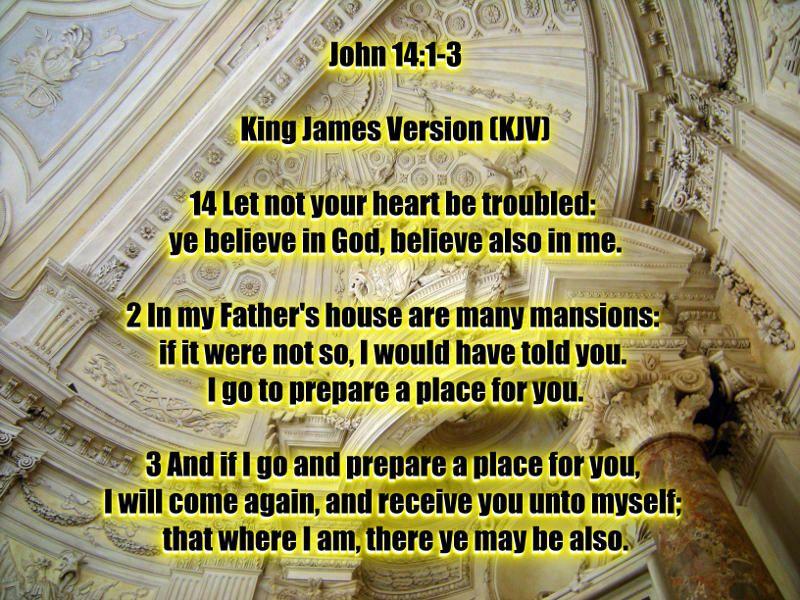 John 14 King James Version John 3 1 14 JESUS CHRIST