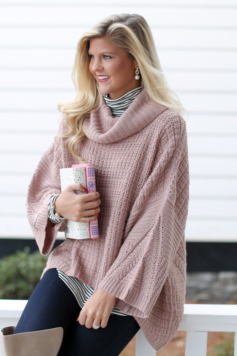 Challenge Accepted Dusty Pink Sweater at reddressboutique.com ...