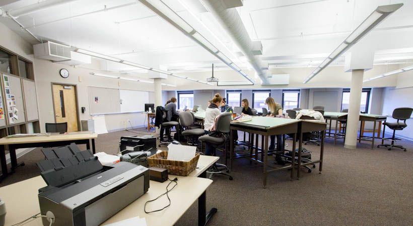 Interior design classroom 17f 526 kendall college of art - Interior design universities in california ...