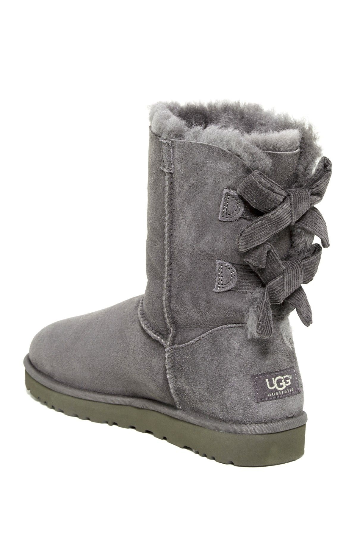 0f20c61cb13 Bailey Bow Corduroy Genuine Lamb Fur Lined Boot | Wish List | Uggs ...