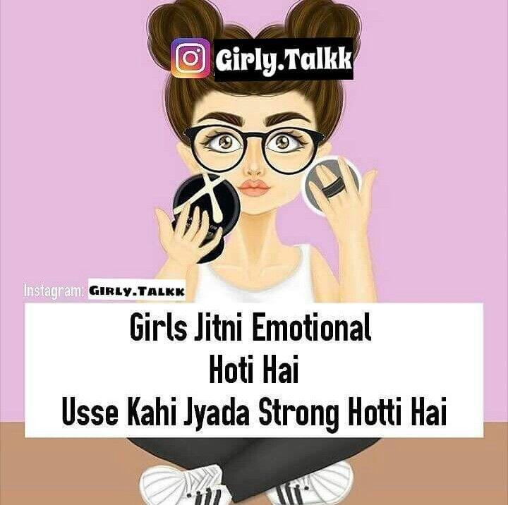 Pin by Princess muskaan on Girly Talk Girly quotes