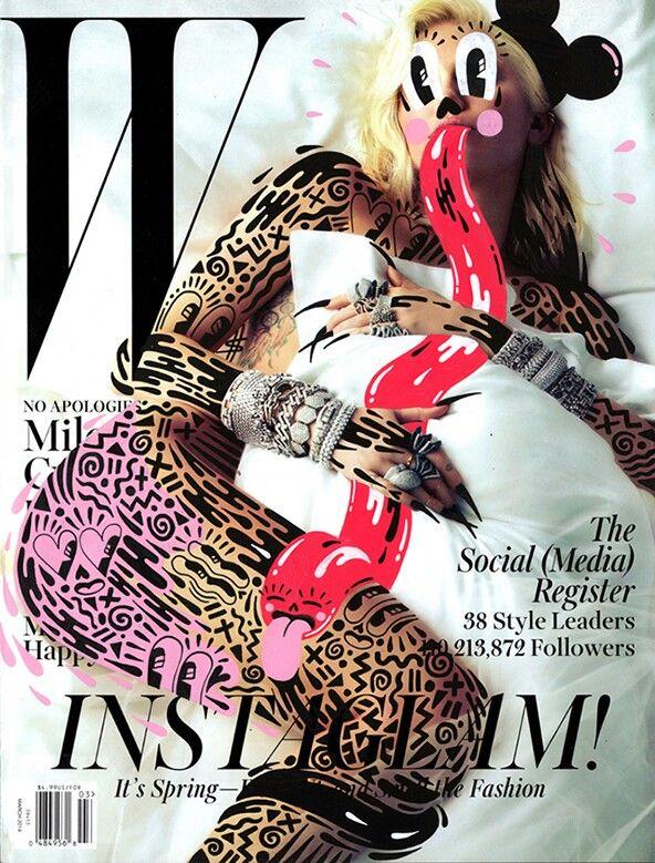 Miley Cyrus - W Magazine