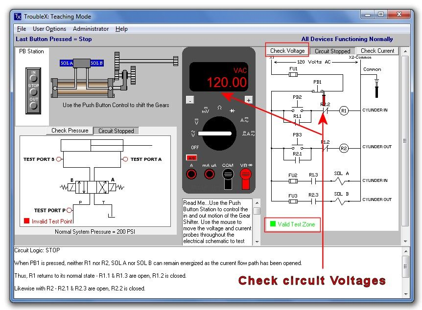 Basic Electrical Troubleshooting Simulator | Industrial Electrician ...