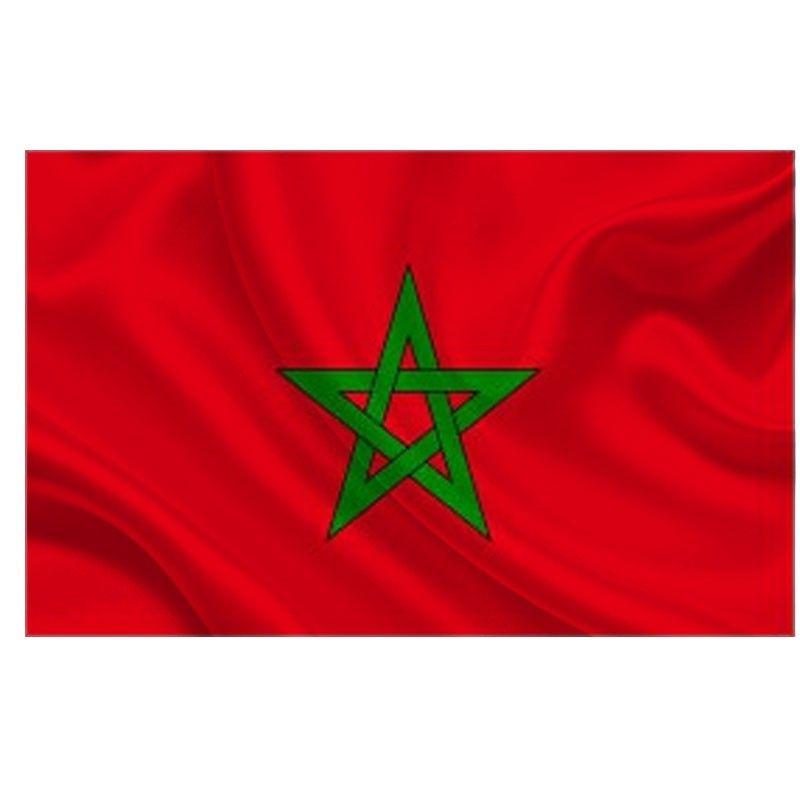 Resultado De Imagen Para Marruecos Bandera Bandera De Marruecos Marruecos Banderas Del Mundo