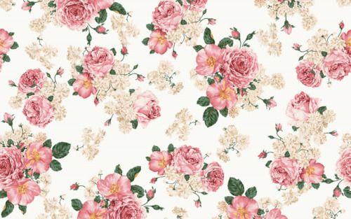 Tumblr Vintage Flowers Wallpaper Vintage Floral Backgrounds Floral Pattern Wallpaper