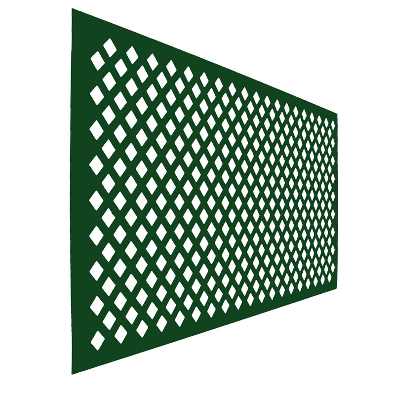 Find Icon Plastics 2400 X 1200 X 4mm Open Lattice Green At Bunnings Warehouse Visit Your Local Store For The Widest Range Plastic Lattice Lattice Find Icons