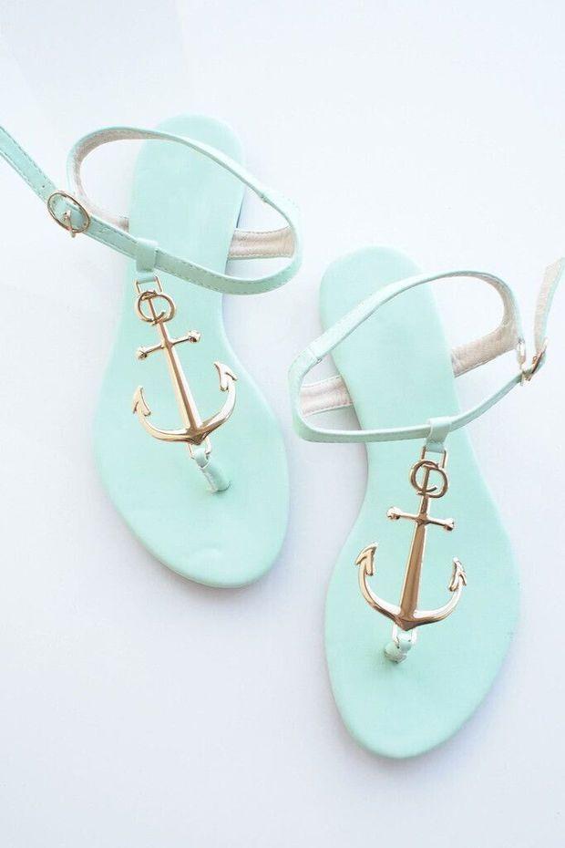 Anchor round head sandals 3186CC