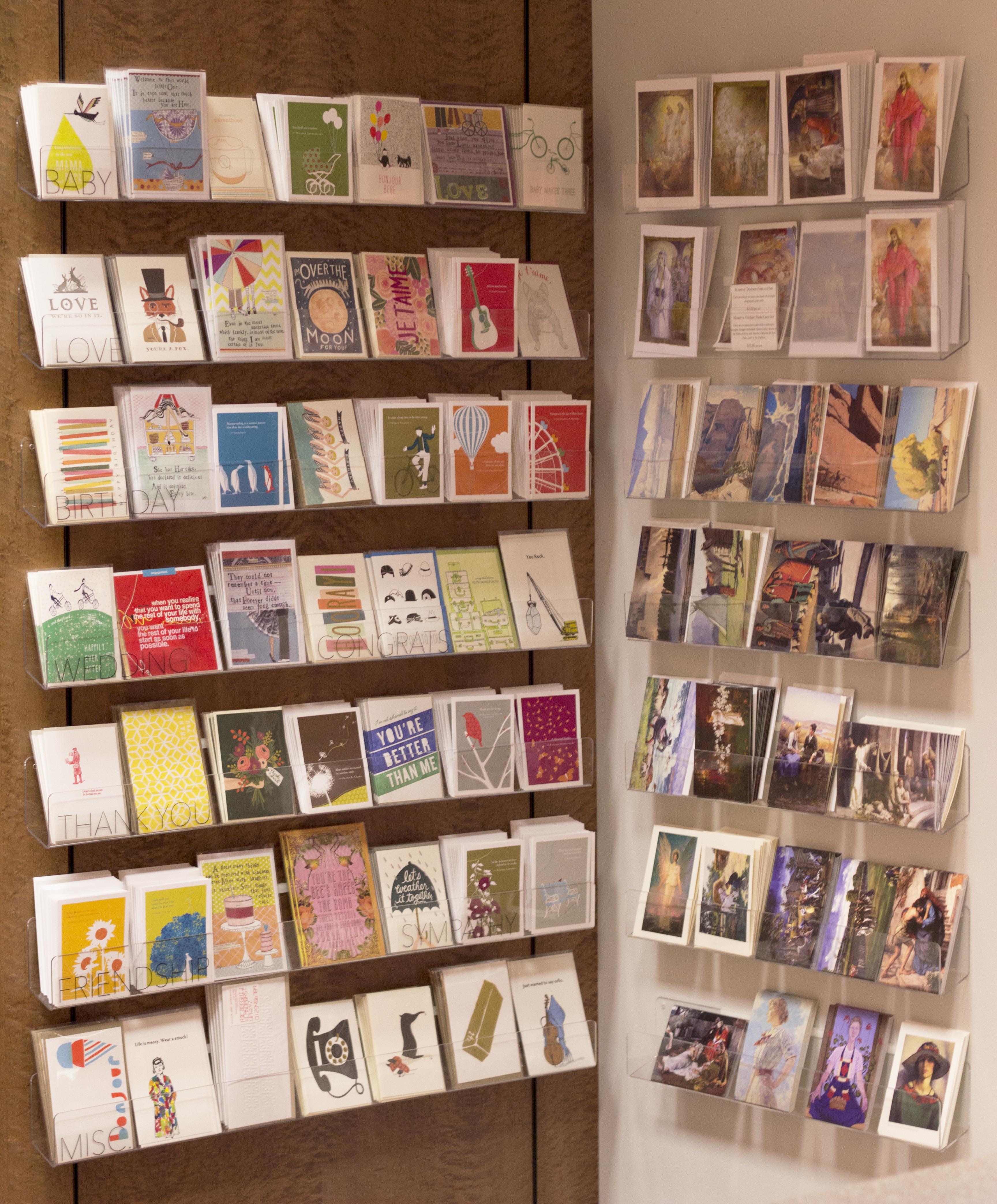 Notecard and postcard display display shelves and shelves notecard display shelves greeting cards kristyandbryce Gallery