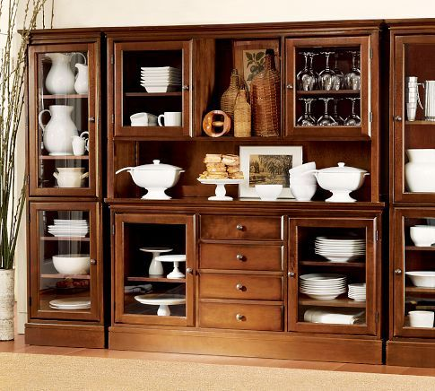 Tucker Wall Unit from Pottery Barn. For dining room. $3,496 | For ...