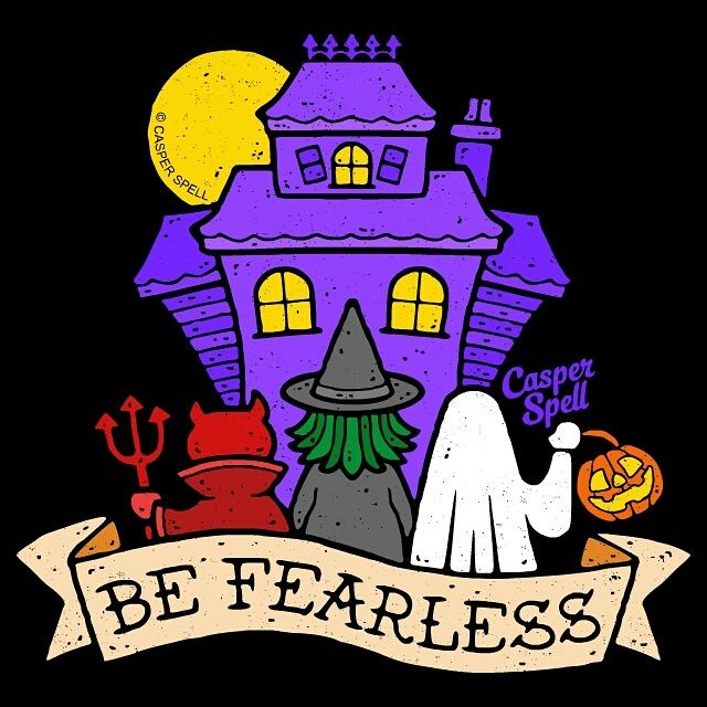 """Be Fearless"" by Casper Spell https//i.redd.it"