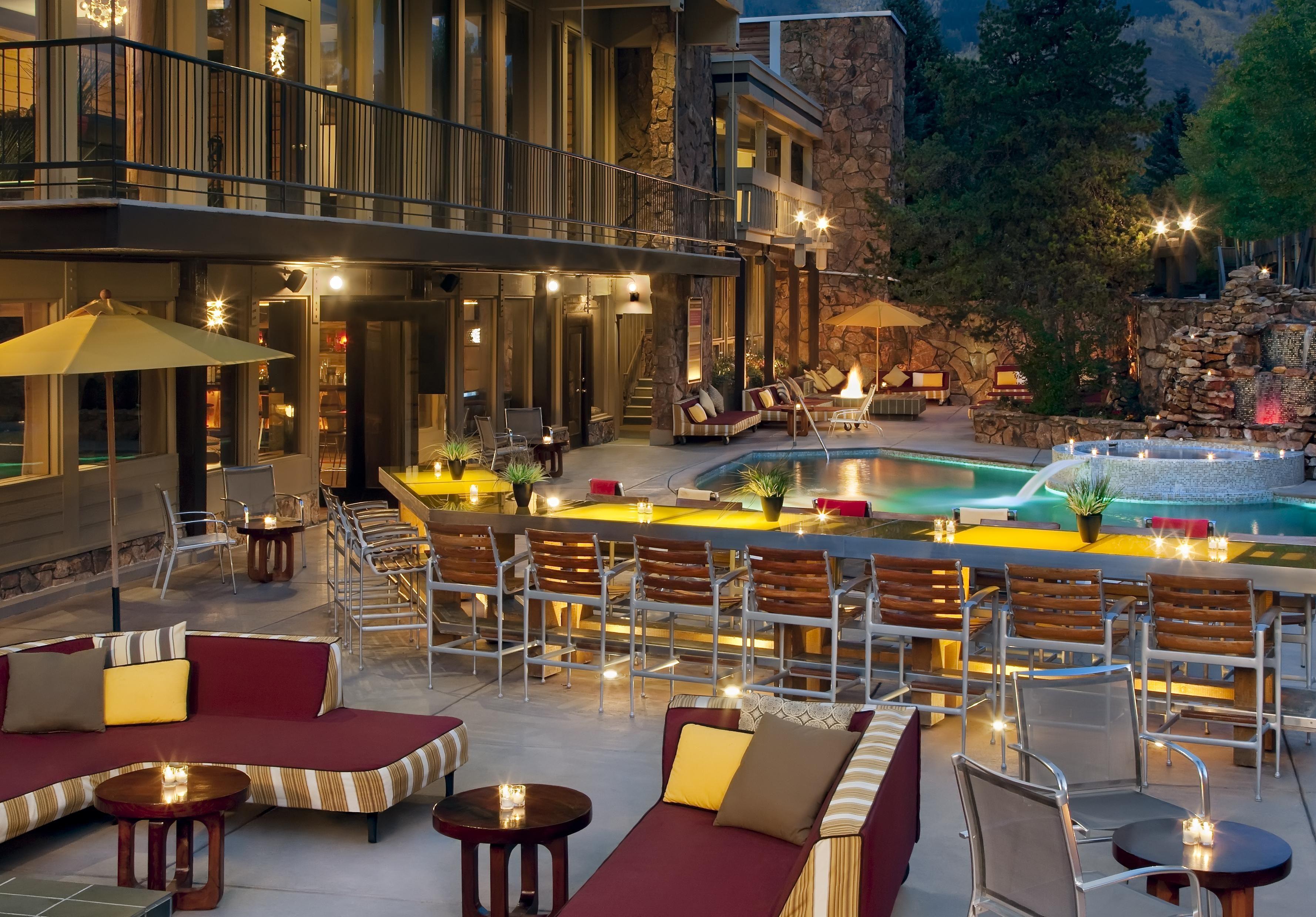 The Sky Hotel, Aspen Super hip après scene