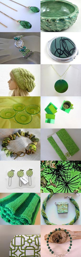 Green Day by Kristi V on Etsy--Pinned with TreasuryPin.com #greengiftideas