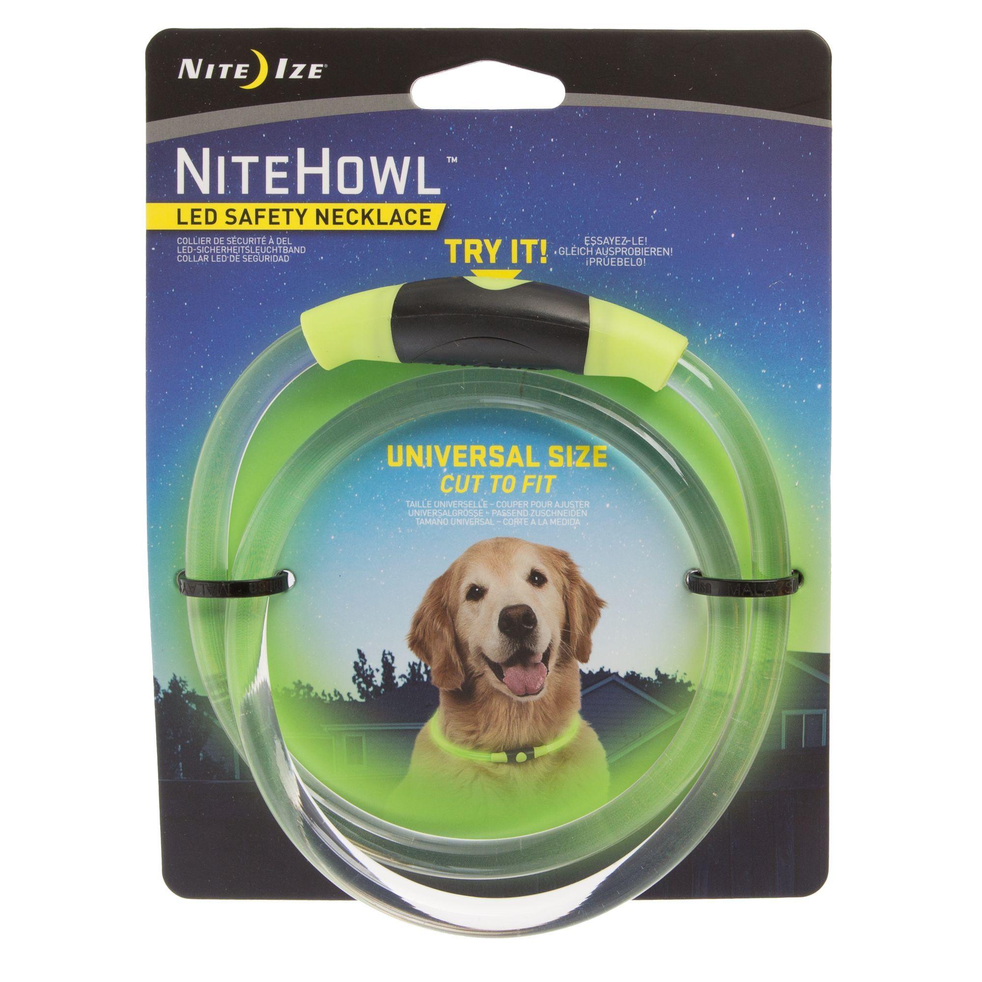 Nite Ize Nitehowl Trade Led Dog Safety Necklace In 2020 Dog