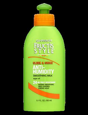 Sleek Shine Anti Humidity Smoothing Milk Garnier Fructis Style Frizzy Hair Hair Milk Garnier Fructis