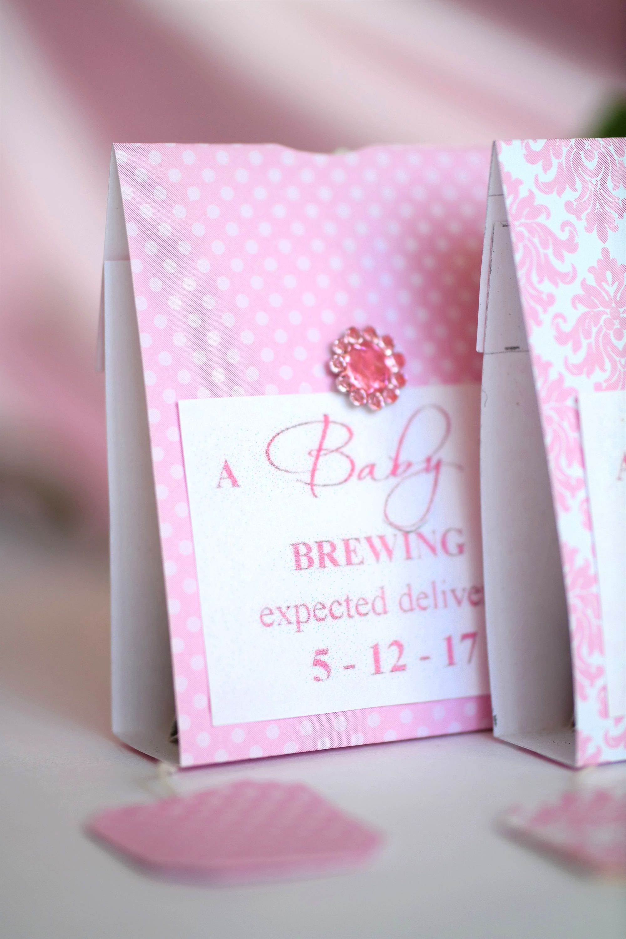 Image 4 Shabby Chic Baby Shower Bridal Tea Party Favors