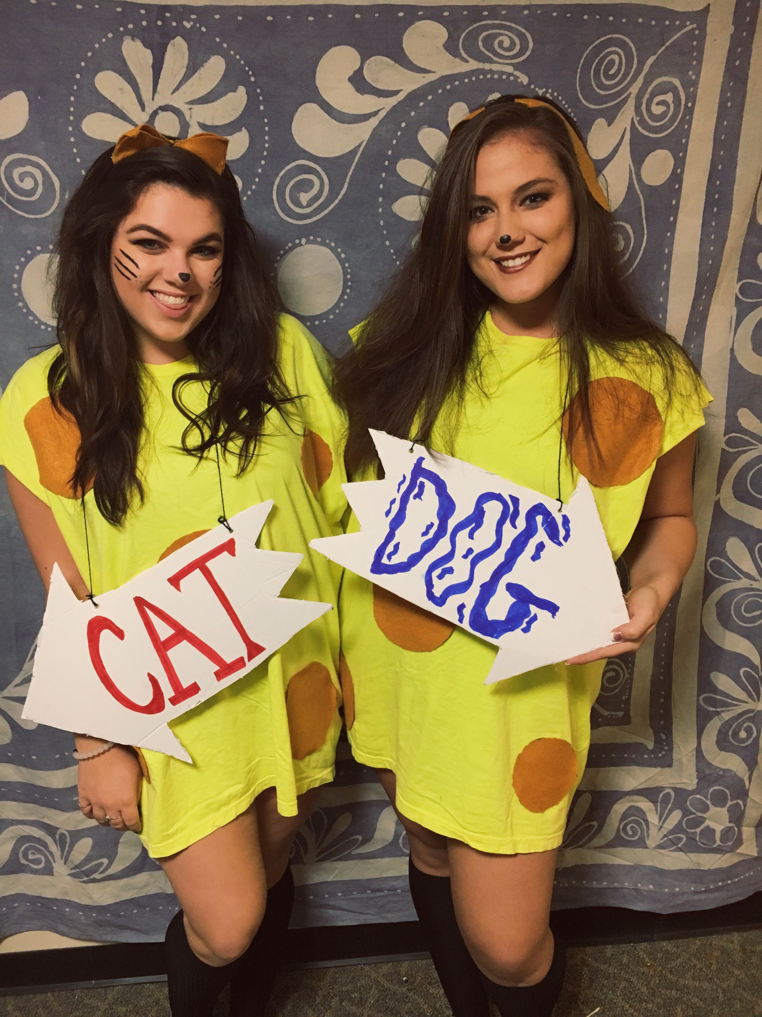 Halloween costumes, DIY, catdog, best friends