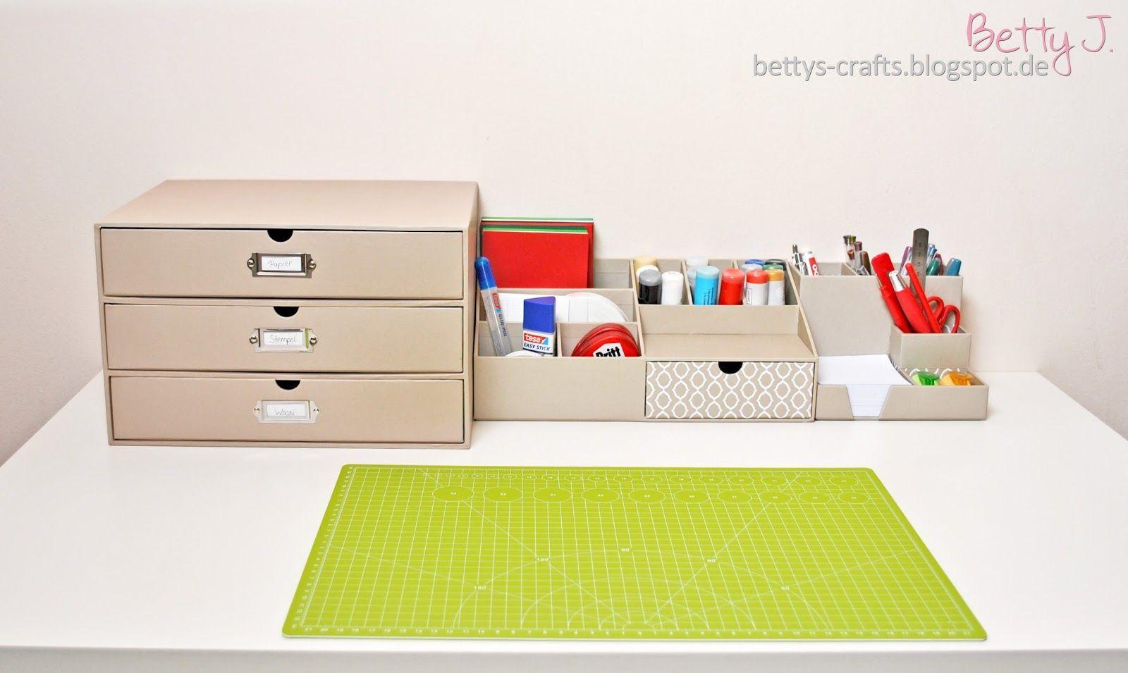 3 tips for your desktop organisation (craft stuff)