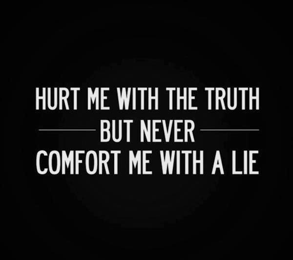 sprüche über lügen englisch
