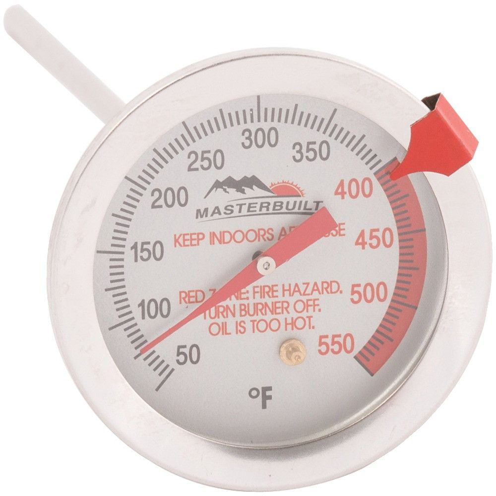 "Masterbuilt Thermometer (6 Easy-to-read Dial Measures Temperatures 50f-550f 6"" #mycustommade"