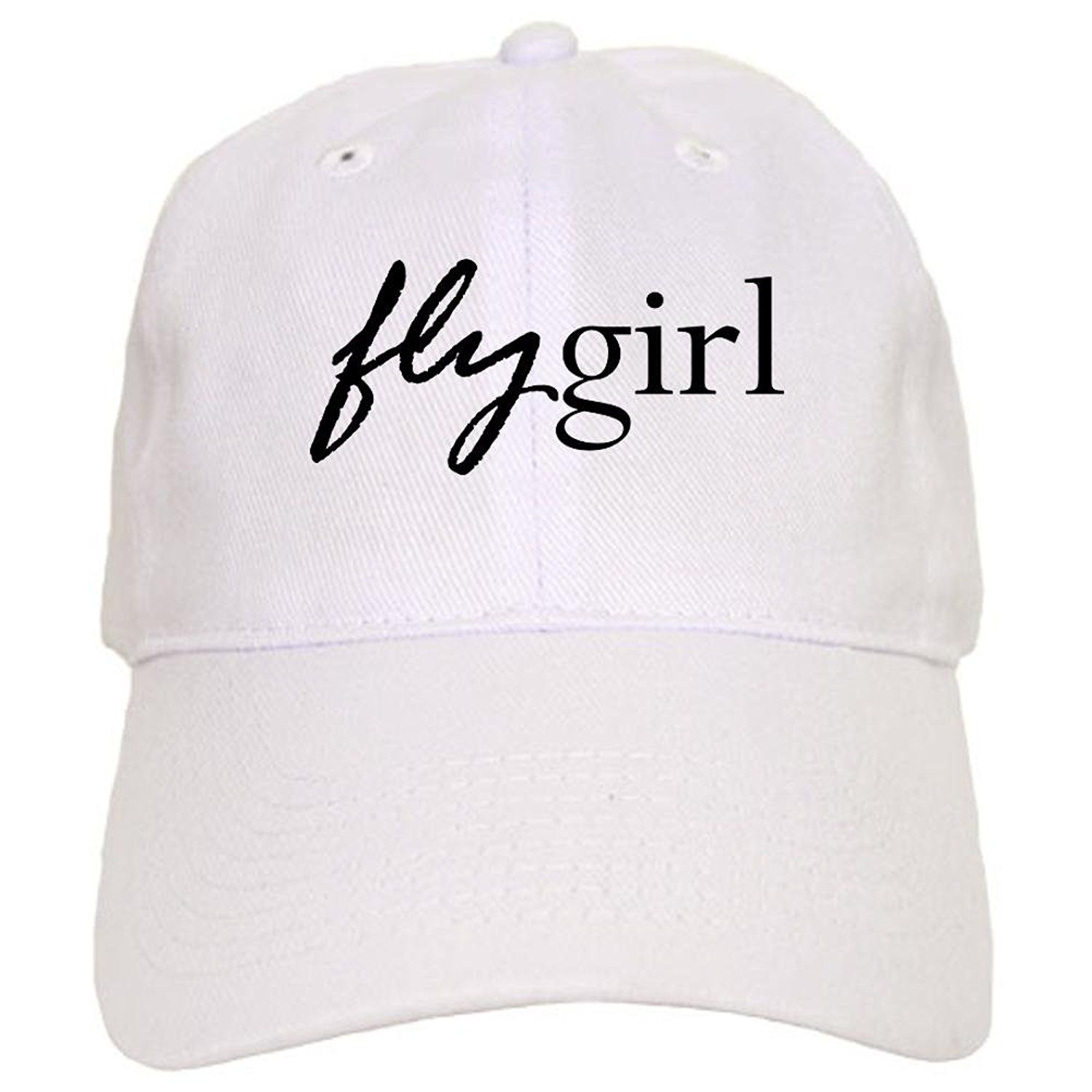 CafePress - Fly Girl Cap - Baseball Cap with Adjustable Closure ... 79f998e7fe70