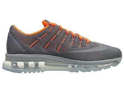Nike Air Max 2016 Gs Big Kids 807236-008 Grey Orange Running Shoes Youth Sz dc04a8e6f
