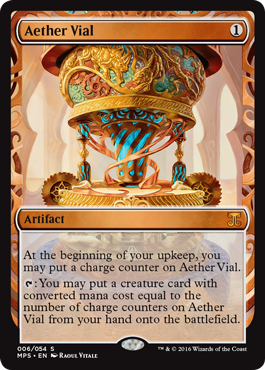 Aether Vial - Kaladesh Inventions