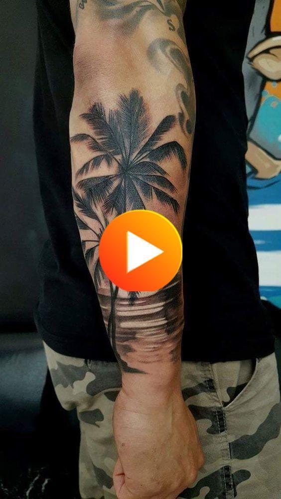 Photo of Palm, beach, sun, #tattoo ideas – Easter #diytattoo – Homemade Tattoo 2020