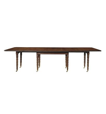 Christiansen Dining Table With Beeswing Prima Vera From The Alexa