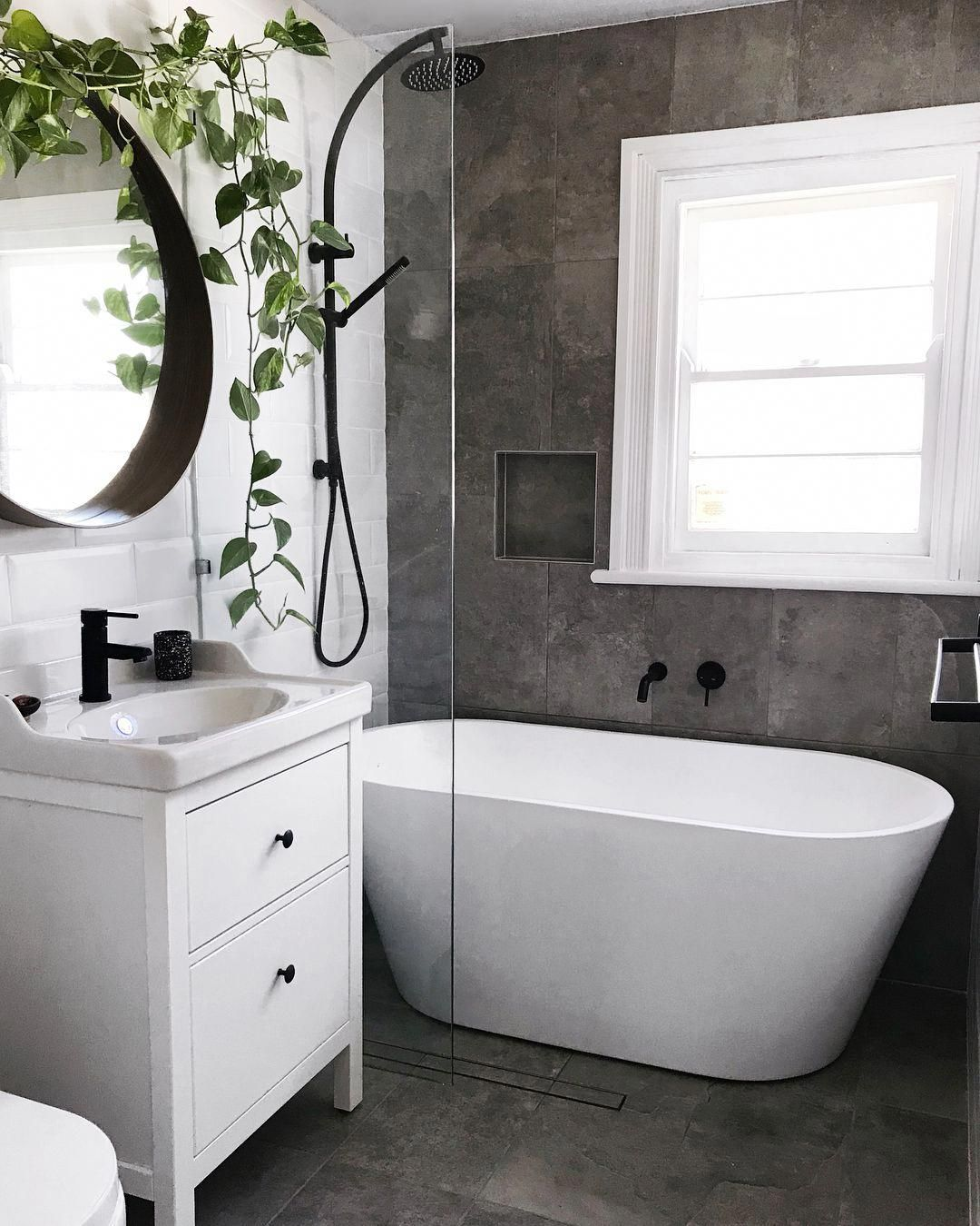 Our Beautiful New Bathroom Before After Smallbathroom In 2019 Badezimmer Bad Und Baden