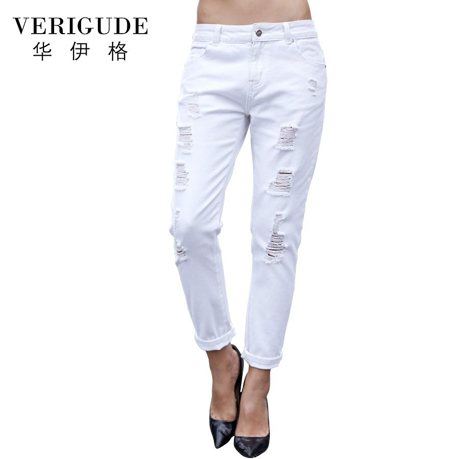 White Jeans Pants for Women