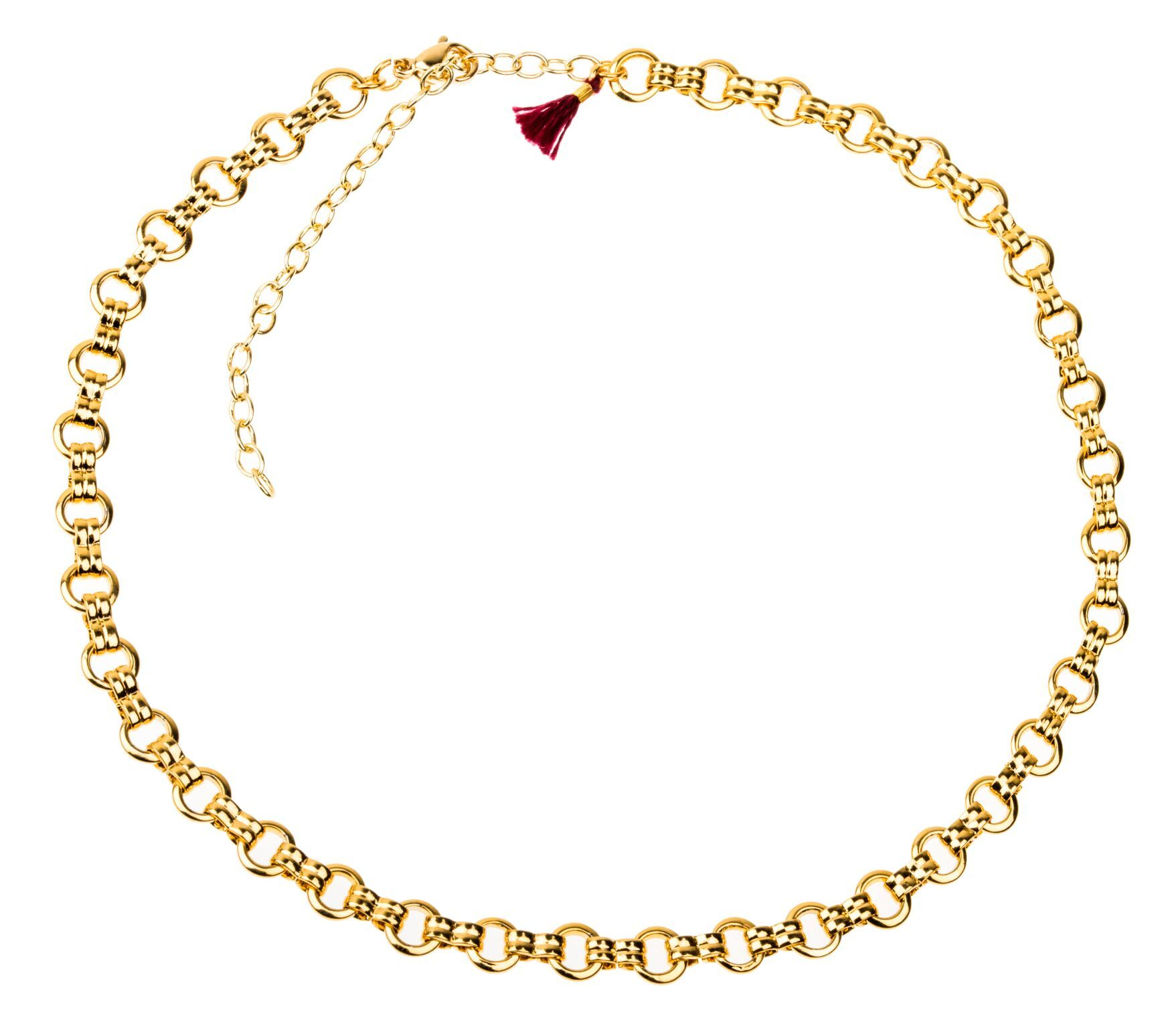 Simple but statement worthy 18k gold plated sterling