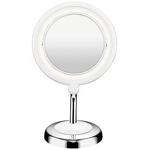 Metal Mirrors Conair Round Metal Mirrors Conair Online Store Reflections Led Lighted Col Mirror With Led Lights Makeup Mirror With Lights Cosmetic Mirror