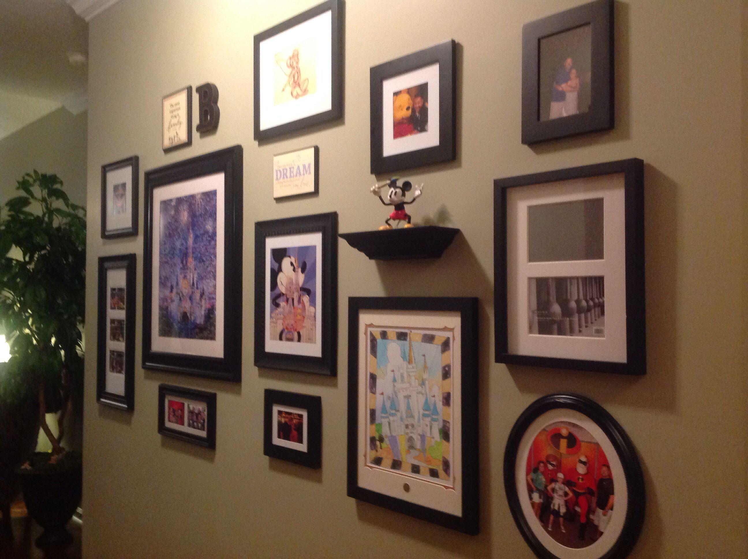 My Disney Wall Collage Disney Disney Wall Decor Disney Room