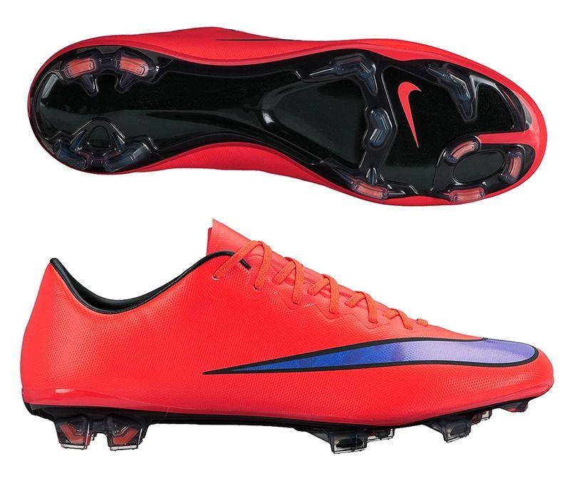 Mercurial Vapor X Fg Soccer Cleats Bright Crimson Persian Violet 648553 650 Nike Soccer Cleats Soccercorner Com