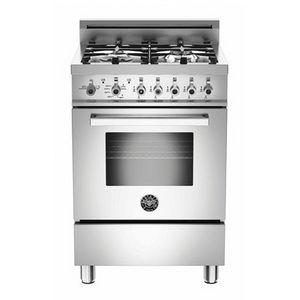 Bertazzoni 24 Free Standing Gas Range Stainless Steel Gas Oven Storage Drawers Bertazzoni Range